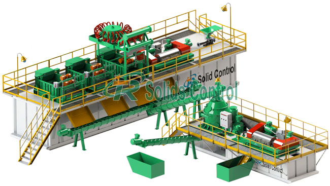 Drilling Cuttings Management  System|Drillig Waste Management System