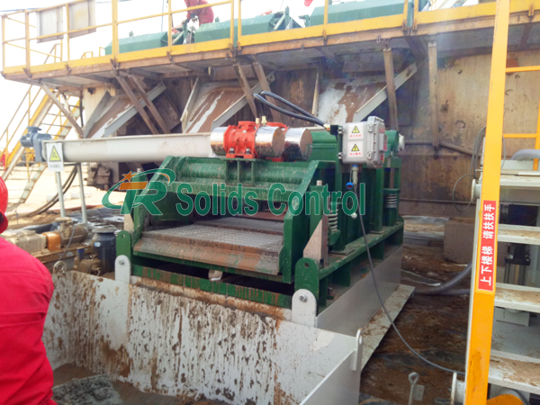 TR drying shaker, drilling waste management, oilfield drying shaker