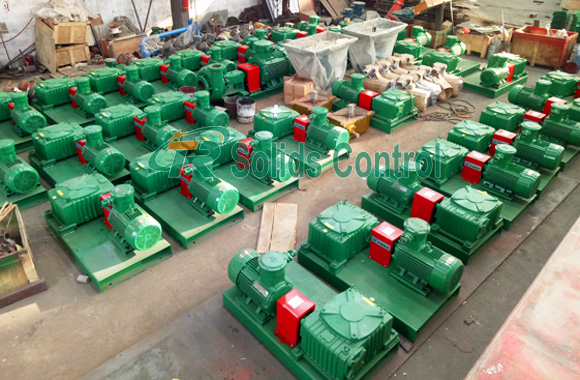 TR solids control equipment, drilling mud system, oilfield mud agitator