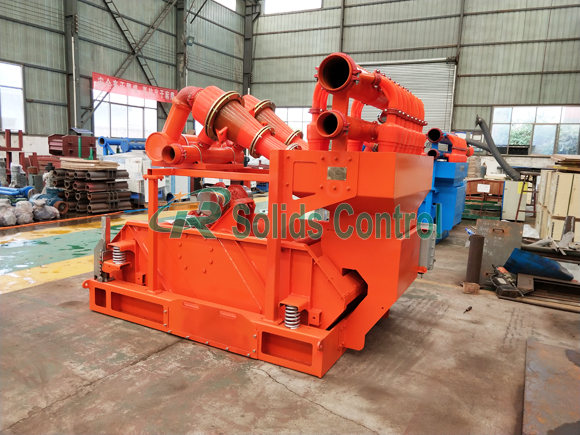 Mud Cleaner and Centrifugal Pump for Ukrainian Oilfield