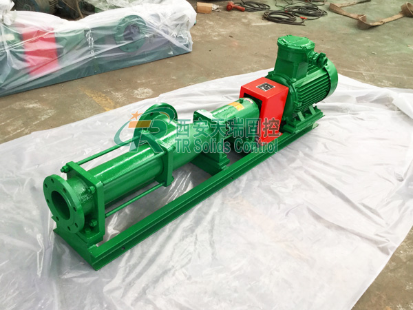 Screw Pump is Ideal Pump for Feeding Decanter Centrifuge