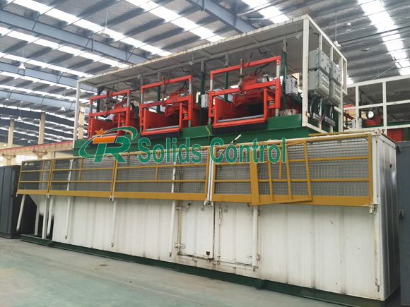 Solids Control System Ready For Delivery