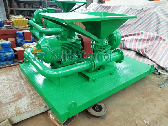 Jet Mud Mixer and Mud Agitator for Singapore Client