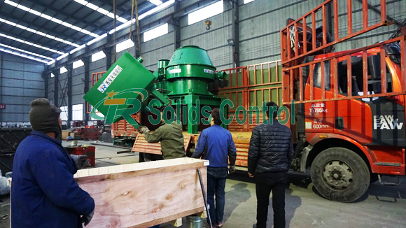 TR Vertical Cutting Dryer Delivered to Canada