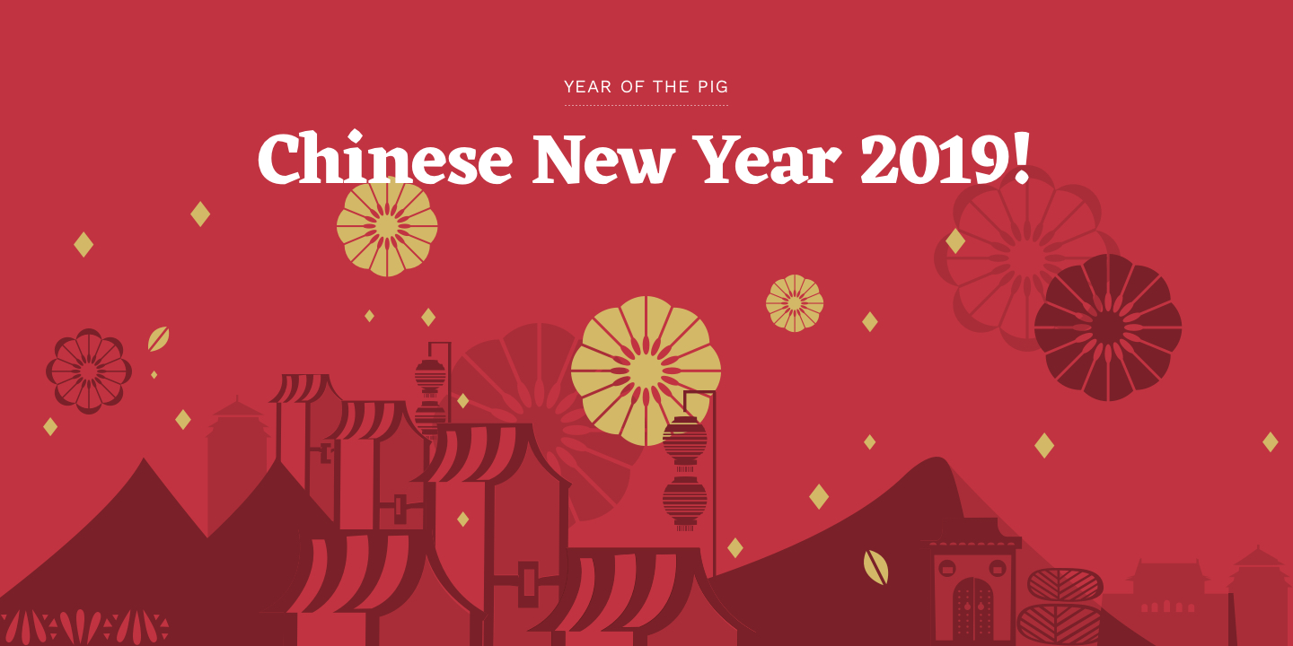 Happy Chinese New Year 2019, happy new year