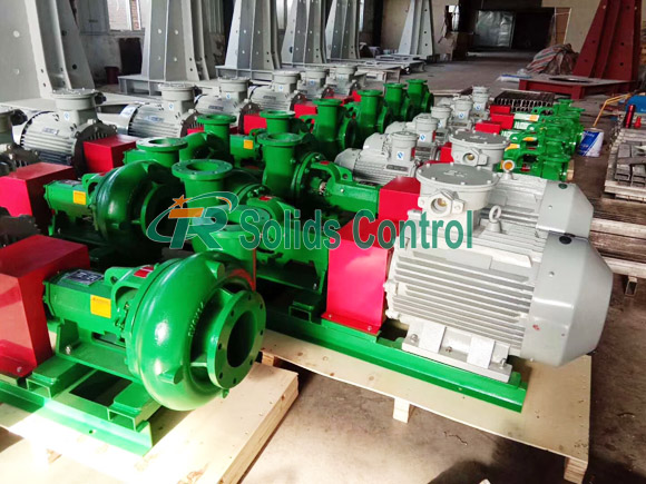 Mission Type Centrifugal Pump Shipped to Middle East