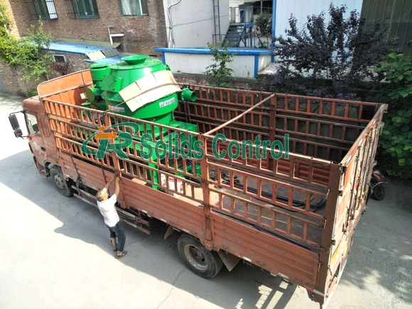 Vertical cutting dryer for drilling waste management, China vertical cutting dryer supplier