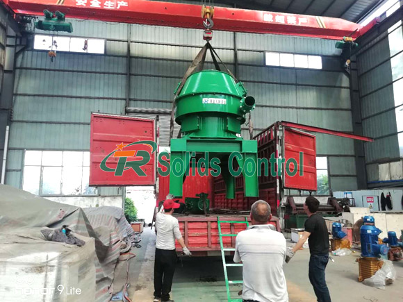 Vertical Cutting Dryer Ready for Azerbaijan