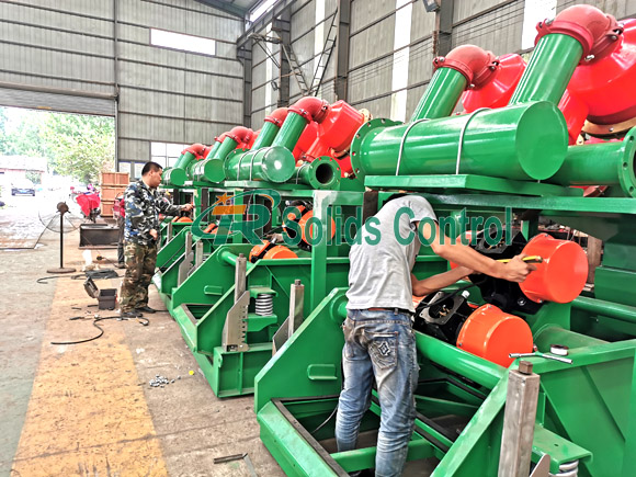 Drilling fluid mud cleaner, China mud cleaner manufacturer