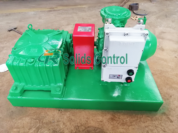 Mud Agitator Exported to Myanmar title=