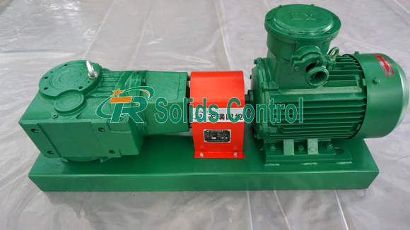New Type Mud Agitator Sent to South American Customer title=