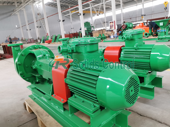 Centrifugal Pump For Russian Client title=