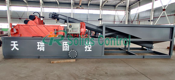 Mud cleaning system, drying shaker for sale, oil sludge treatment system