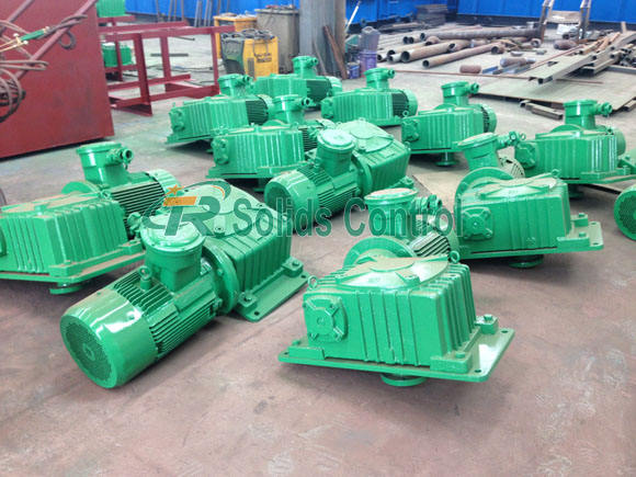 Horizontal Mud Agitator Shipped to Offshore Client