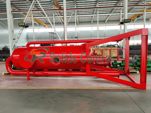 Mud gas separator for sale, oil drilling mud gas separator