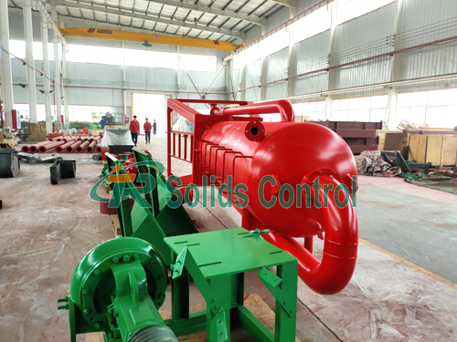 Factory price mud gas separator, solid control mud gas separator