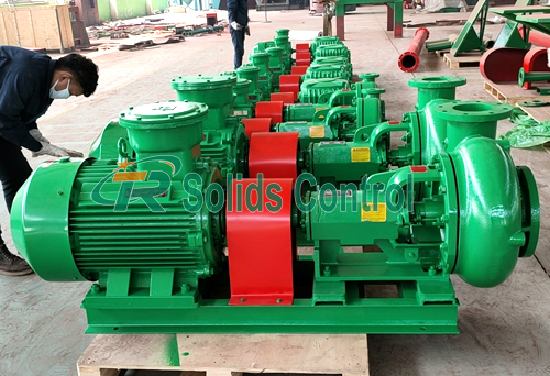 Centrifugal sand pump, drilling fluid centrifugal pump