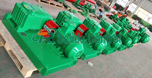 Mud agitator for oil drilling, high performance mud agitator