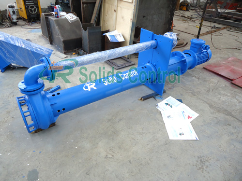 Characterstics of YZ Series Submersible Slurry Pump