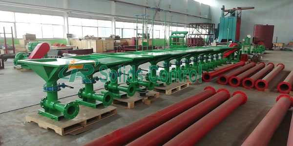 Mud Mixing Hopper for Europe Company