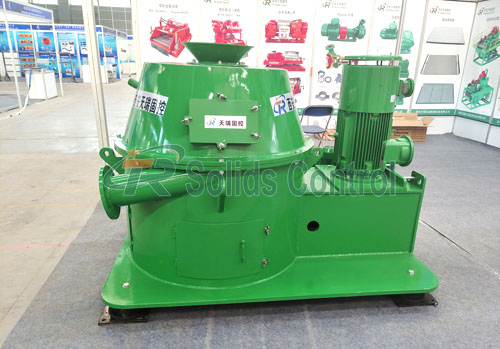 Drilling vertical cutting dryer, drilling waste management