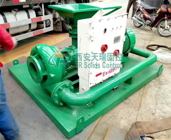 Jet mud mixer for oil gas drilling, high performance jet mux mixer