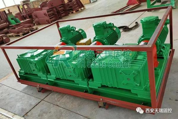 Oilfield mud agitator, large power mud agitator