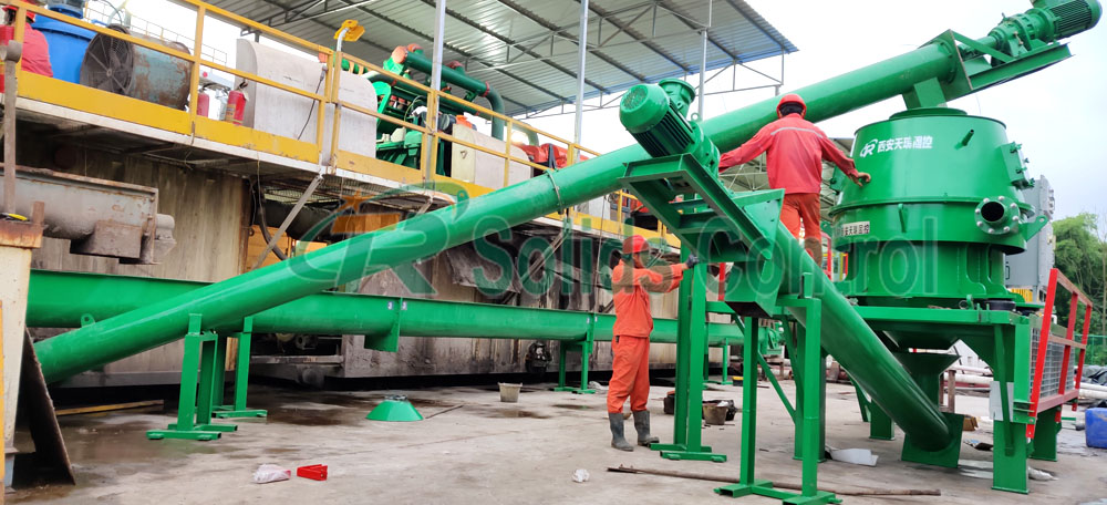 Working Process of Drilling Waste Management
