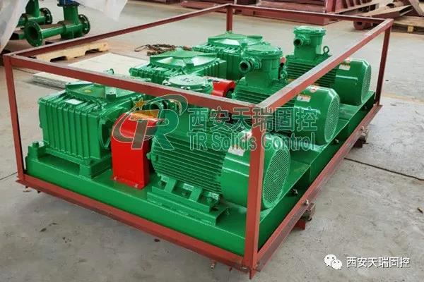Mud agitator for oil and gas, solid control mud agitator