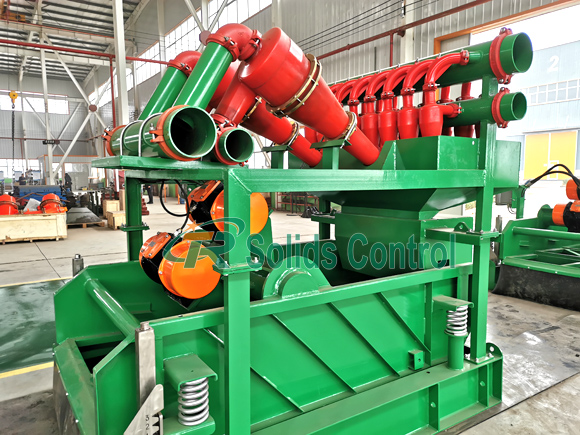 Solid control mud cleaner, drilling fluid mud cleaner