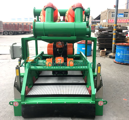 Mud cleaner for horizontal directional drilling, oilfield mud cleaner