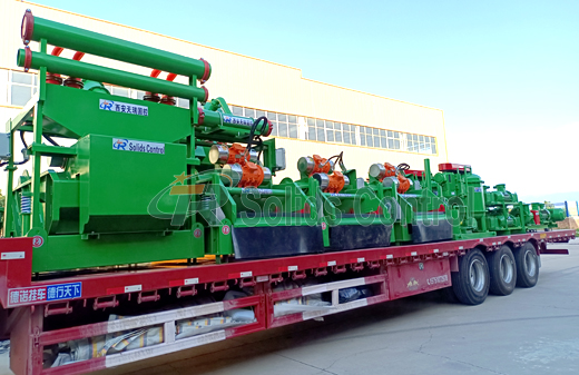 ZJ30 Solids Control System Delivery title=